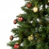 cropped image of christmas tree with decoration